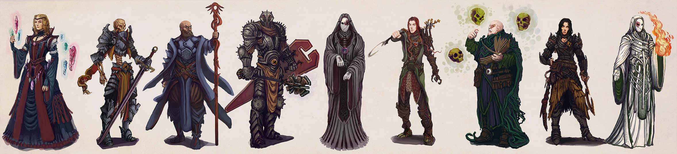 Character Design Lineup : Chronicles of jinx character design lineup by art