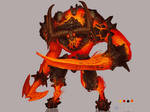 Chronicles of Jinx / Fire Behemot Concept Art