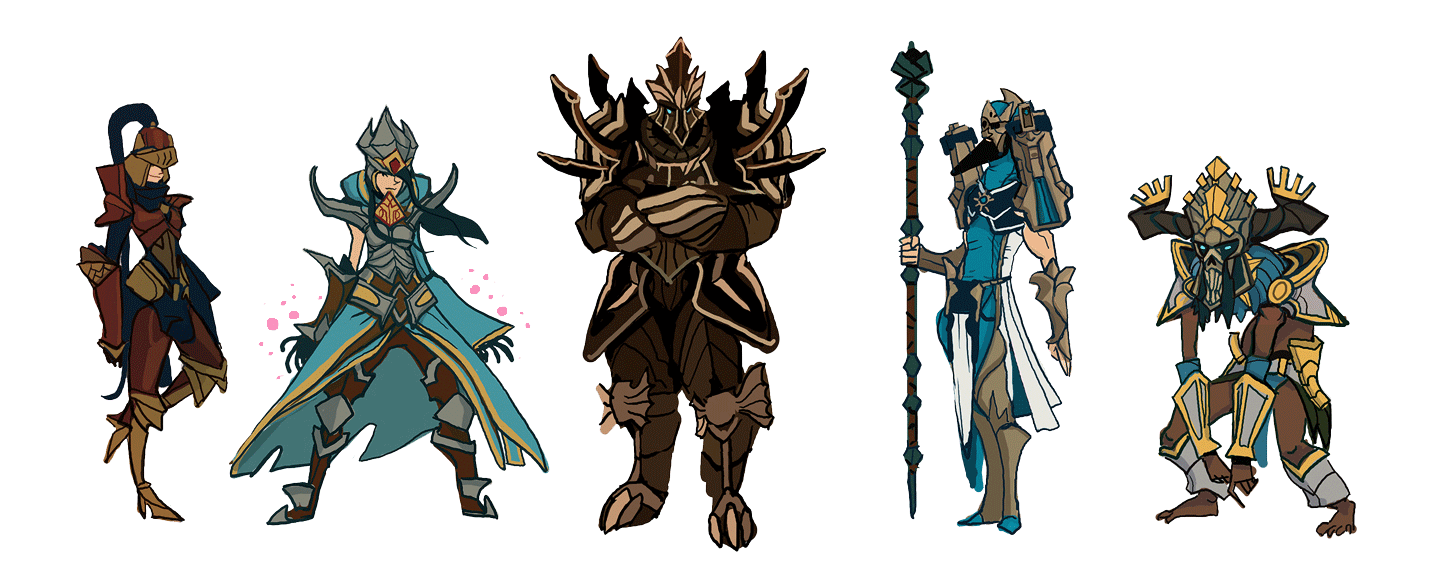 Diablo 3 geared up group by Art-Calavera