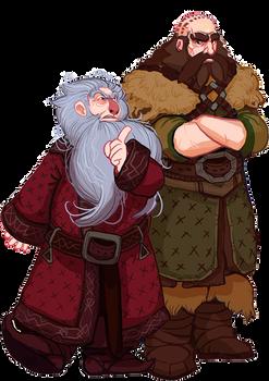 The Hobbit, Balin and Dwalin