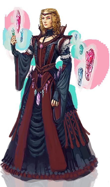 Wizard Queen by Art-Calavera