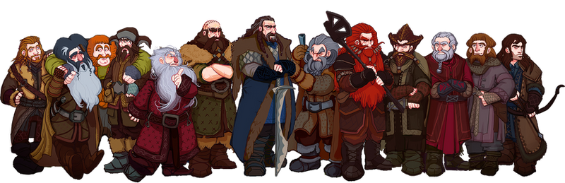 The Hobbit, Thorin and Company