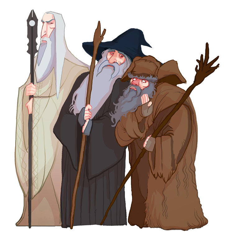 The three Wise Men by Art-Calavera