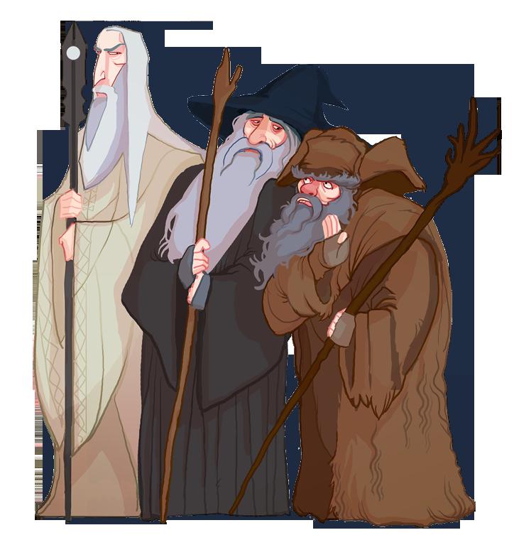 The three Wise Men by Art-Calavera