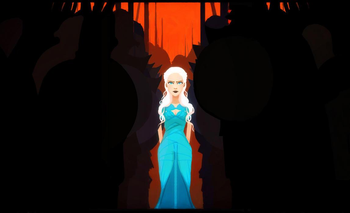 Queen Dany by Art-Calavera