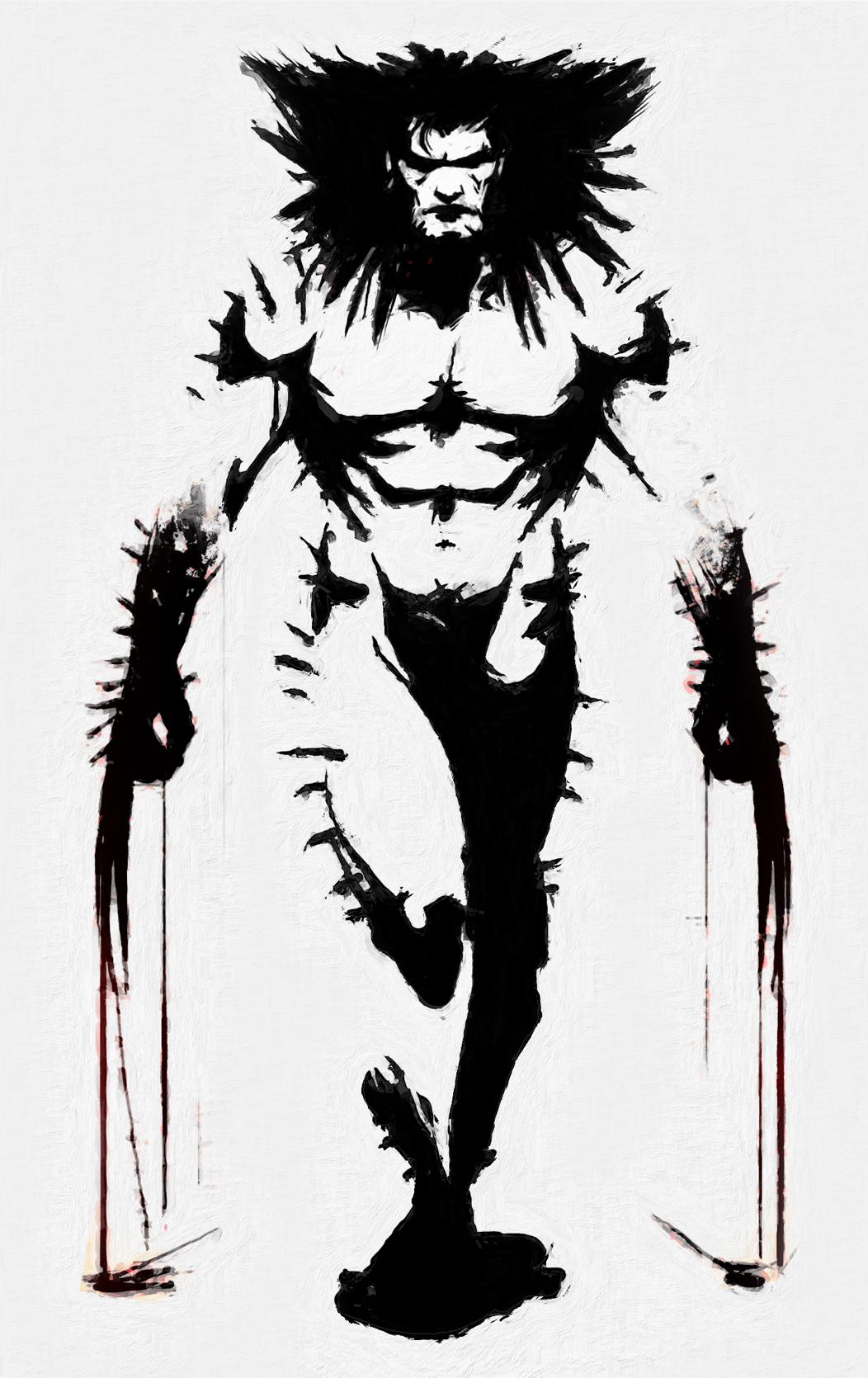 Wolvie by Art-Calavera