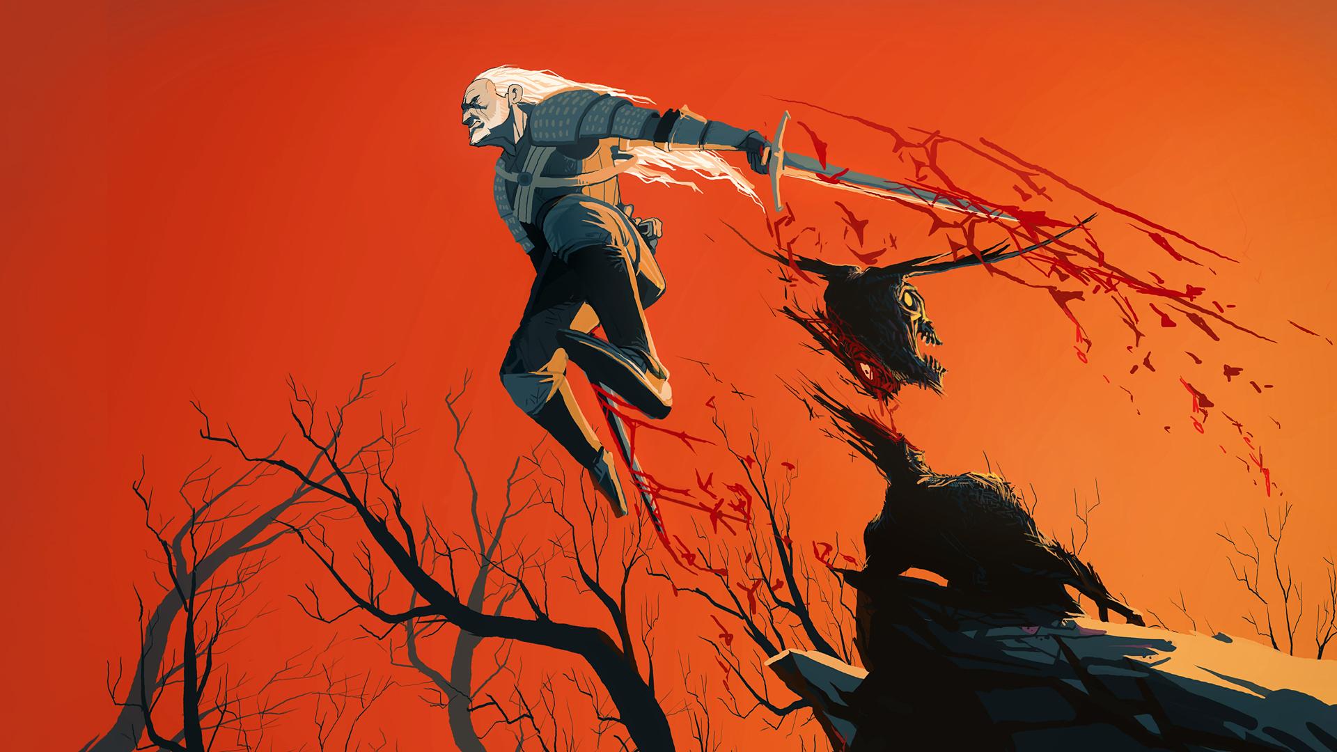 Geralt Wallpaper By Art Calavera On Deviantart