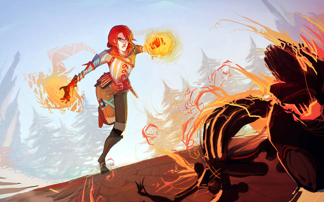 Triss Merigold by Art-Calavera