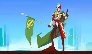 Mandarohan soldier by Art-Calavera