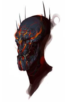 Sauron Helmetless