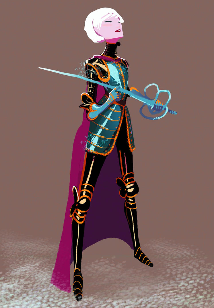 Armored Queen Elsa by Art-Calavera