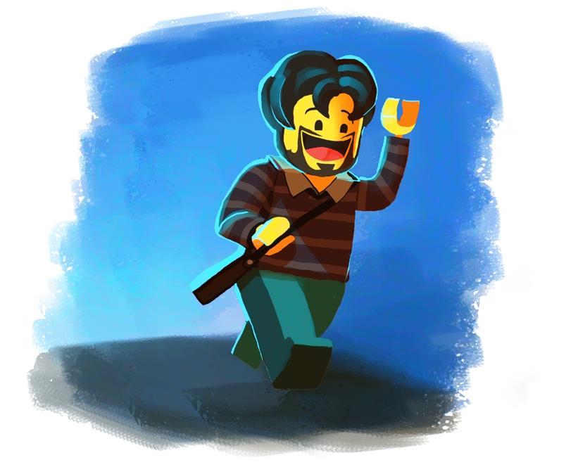 Lego Self by Art-Calavera