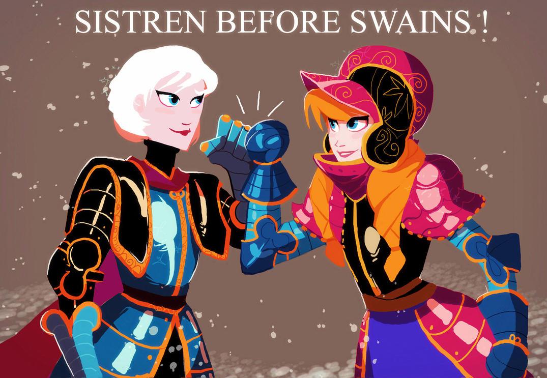 Sistren Power by Art-Calavera
