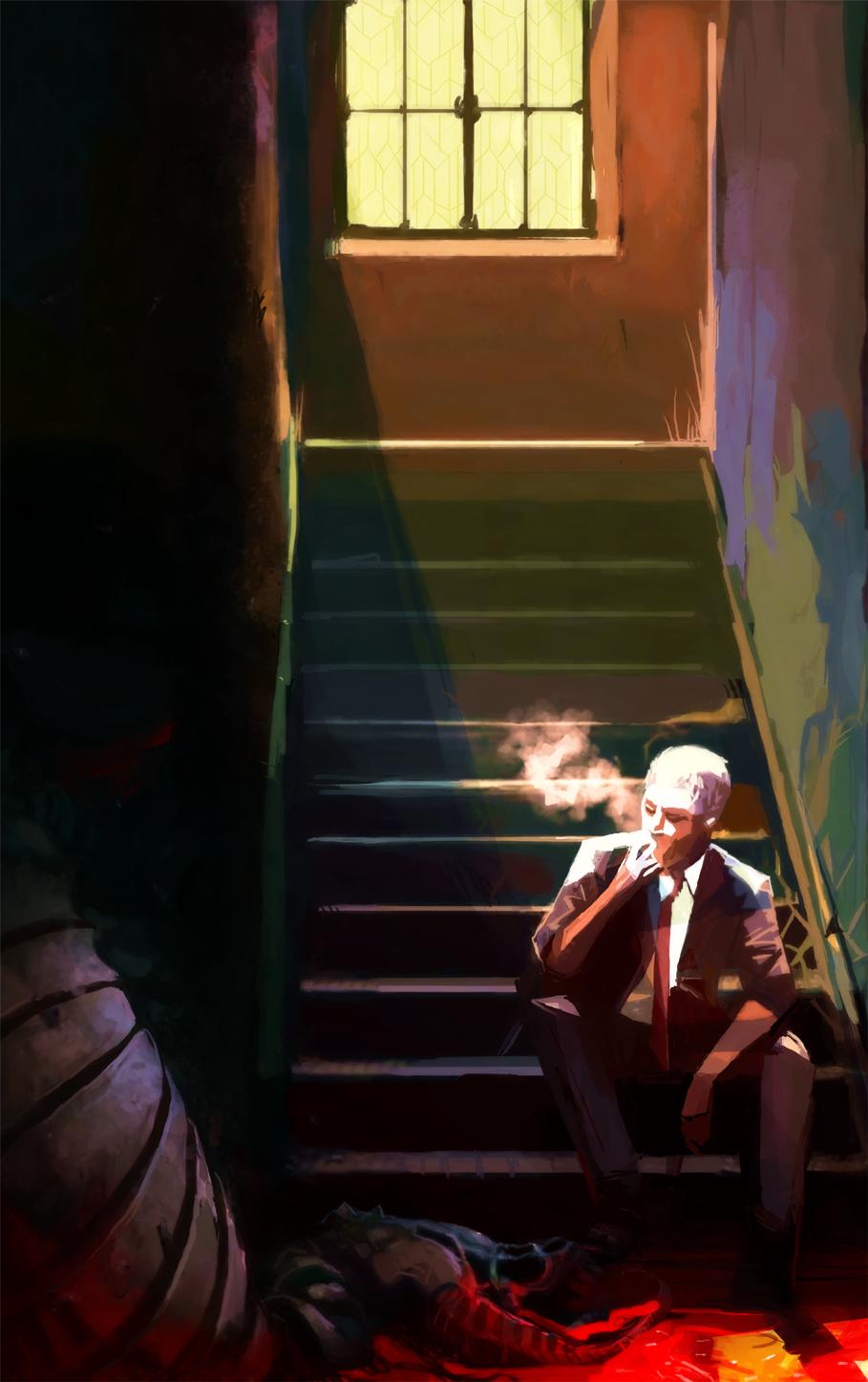 Hellblazer by Art-Calavera
