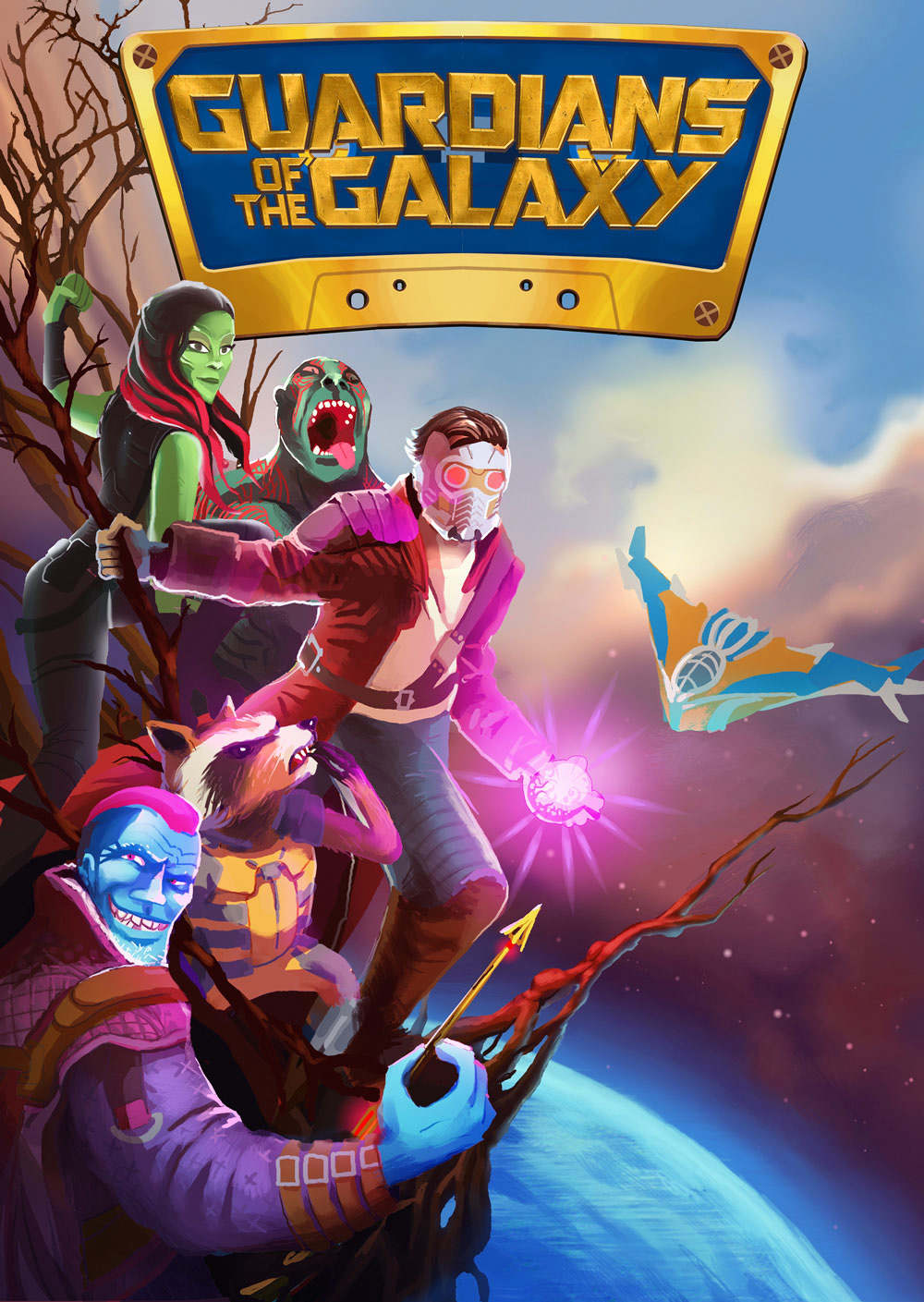 Guardians of the Treasure Planet by Art-Calavera on DeviantArt