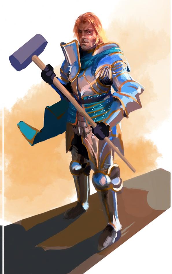 Prince Arthas by Art-Calavera