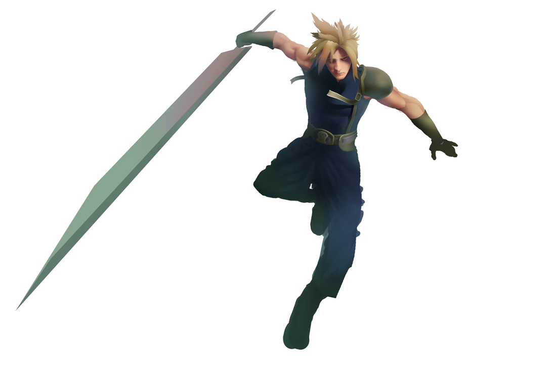 Cloud Strife by Art-Calavera