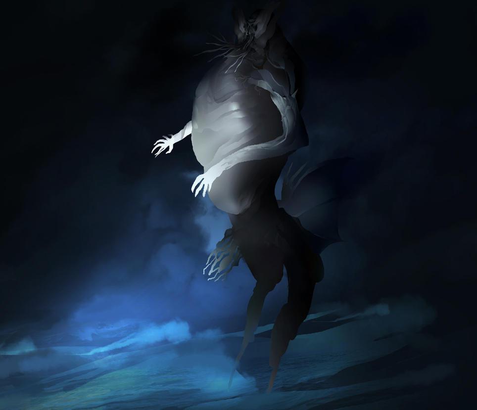 Cthulhu something by Art-Calavera