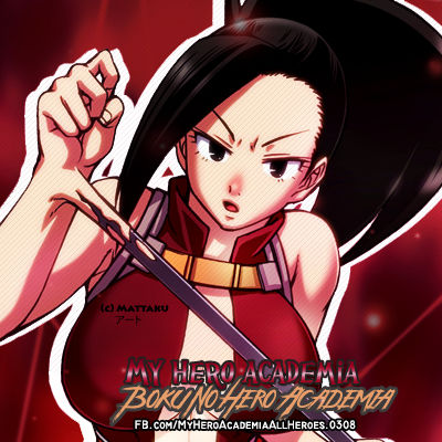 Fb Icon Momo Yaoyorozu Boku No Hero Academia By