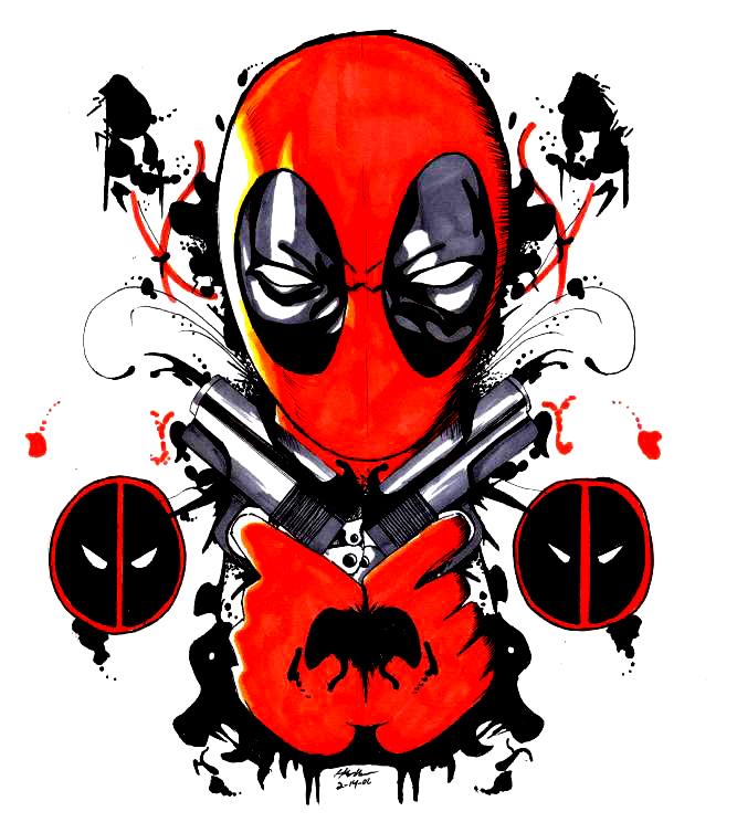 Deadpool by TeeVeeBoi