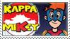 Kappa Mikey Stamp by siinclaiir