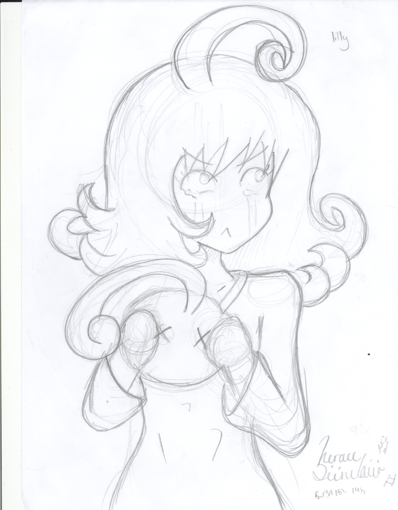 Lilly Sketch (TLOS) by siinclaiir