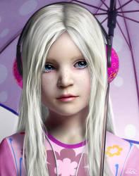 Little blonde by BlaMo