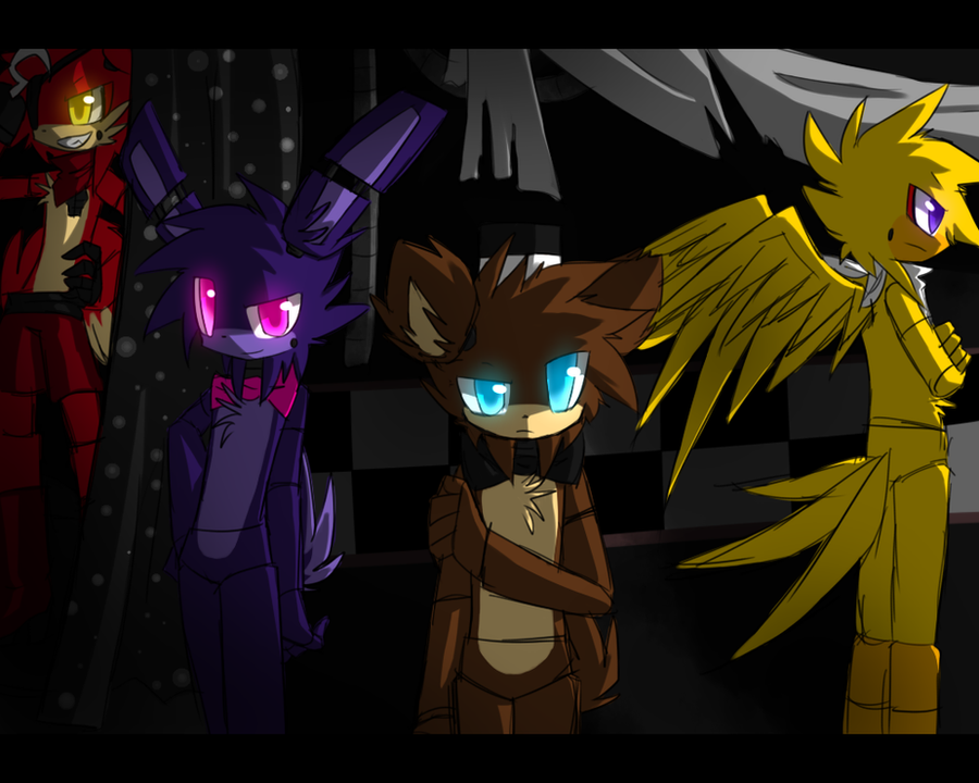 first AU created i gue... Nightmare Night Wallpaper
