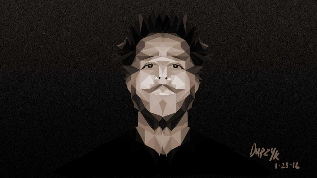 Low Poly J Cole Wallpaper By Cldupzyk On Deviantart