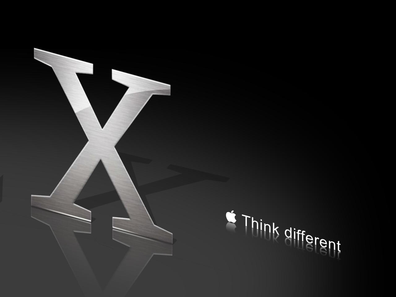 Mac OSX think different by Sontar