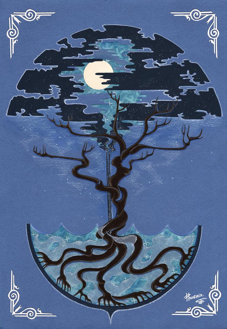 Tree of summer storm by PhoenixAnna