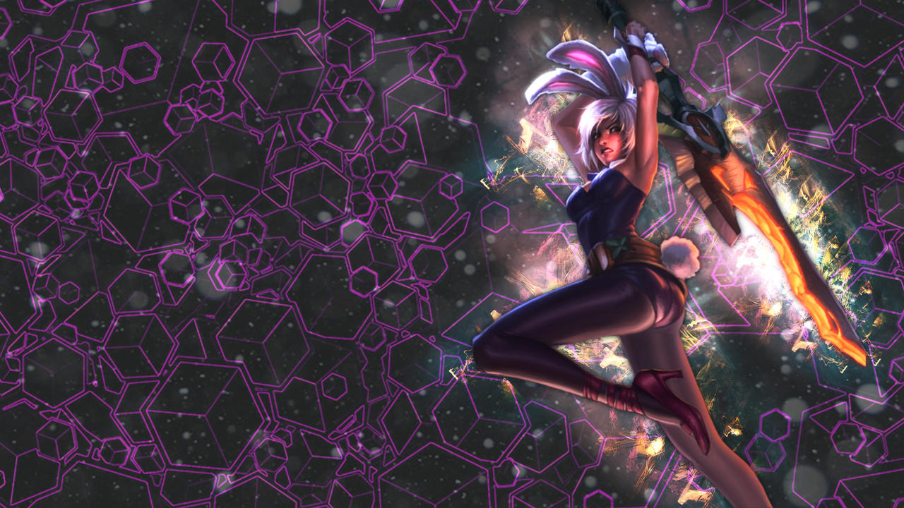 battle bunny riven wallpaper by eltoomi fan art wallpaper games no ...Bunny Riven Fan Art