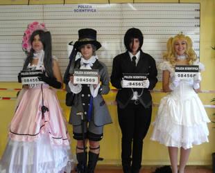 Under arrest - Black butler cosplay by kikicri88