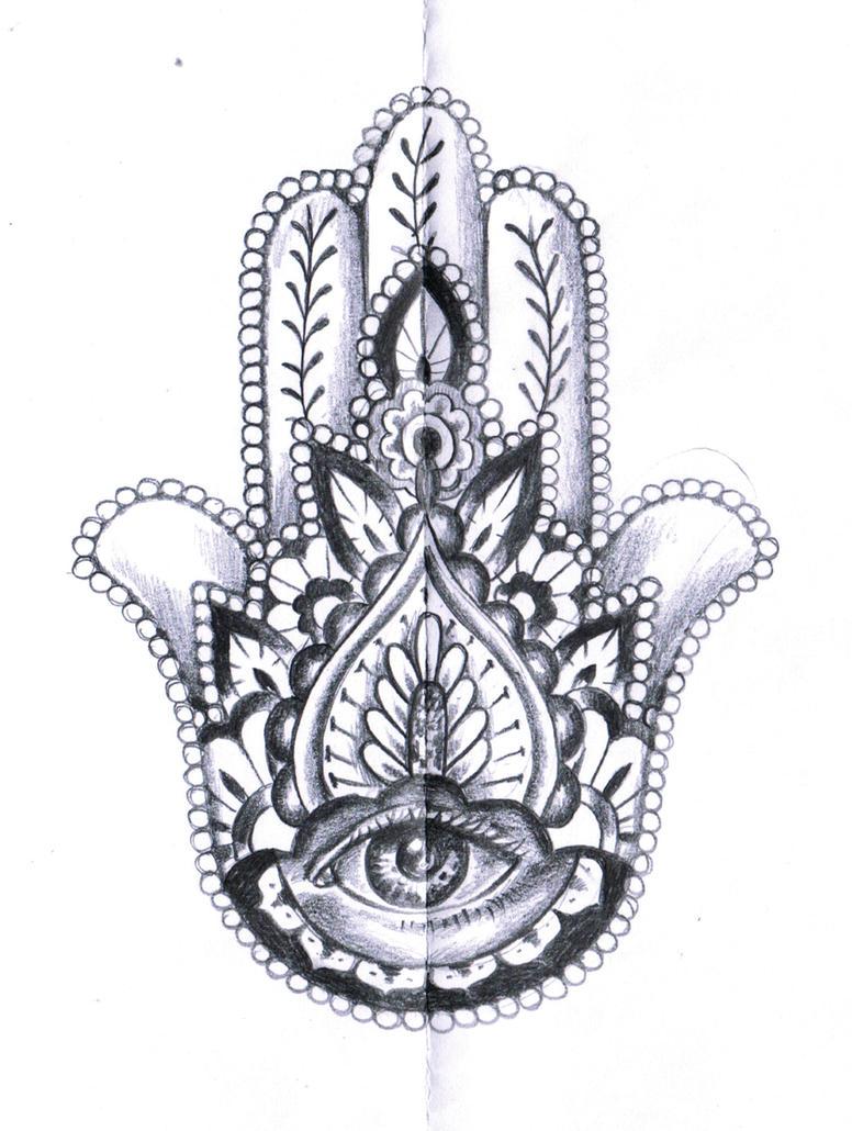 Fatima 39 s hand tattoo concept by kikicri88 on deviantart for Hand of fatima tattoo