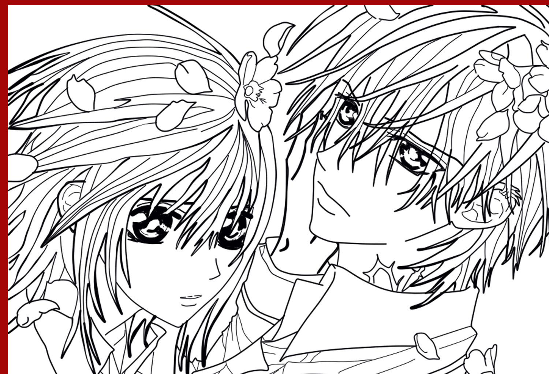 Line Art Zero : Zero and yuuki line art by alaudina on deviantart