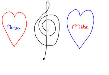 The Musical Couple by MusicalStar2009