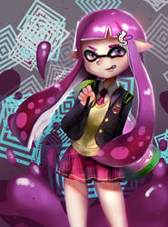 Inkling Girl by Yaantii