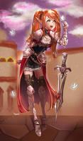 Commission - Ava High Elf