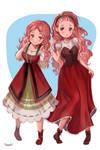 Harvest Moon/Story of Seasons - Popuri (Then/Now)