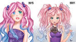 Improvement - Pigtails Girl by Pigliicorn