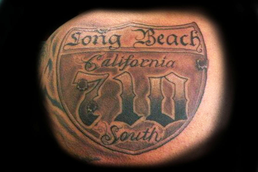 710 fwy sign long beach by victormgramos on deviantart for Tattoo shops in long beach