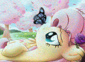 Flutterfly by Bugplayer Mosaic