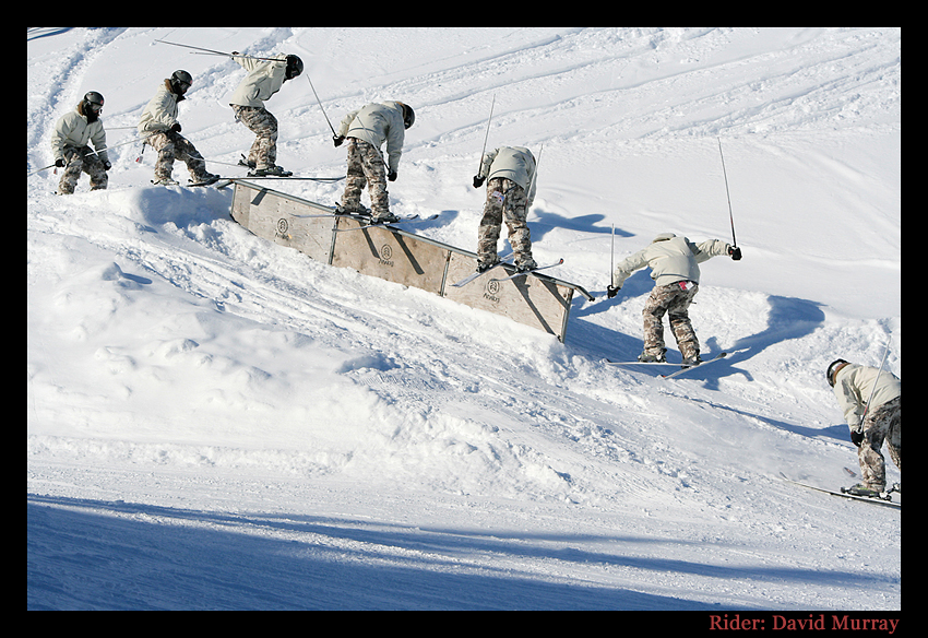 Skiing Sequence by P-Photographie