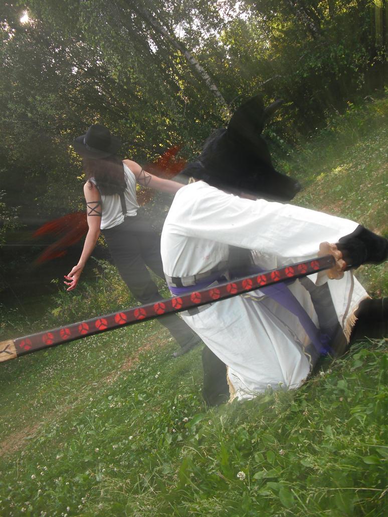 Chaka vs. Lucci by RagnareK