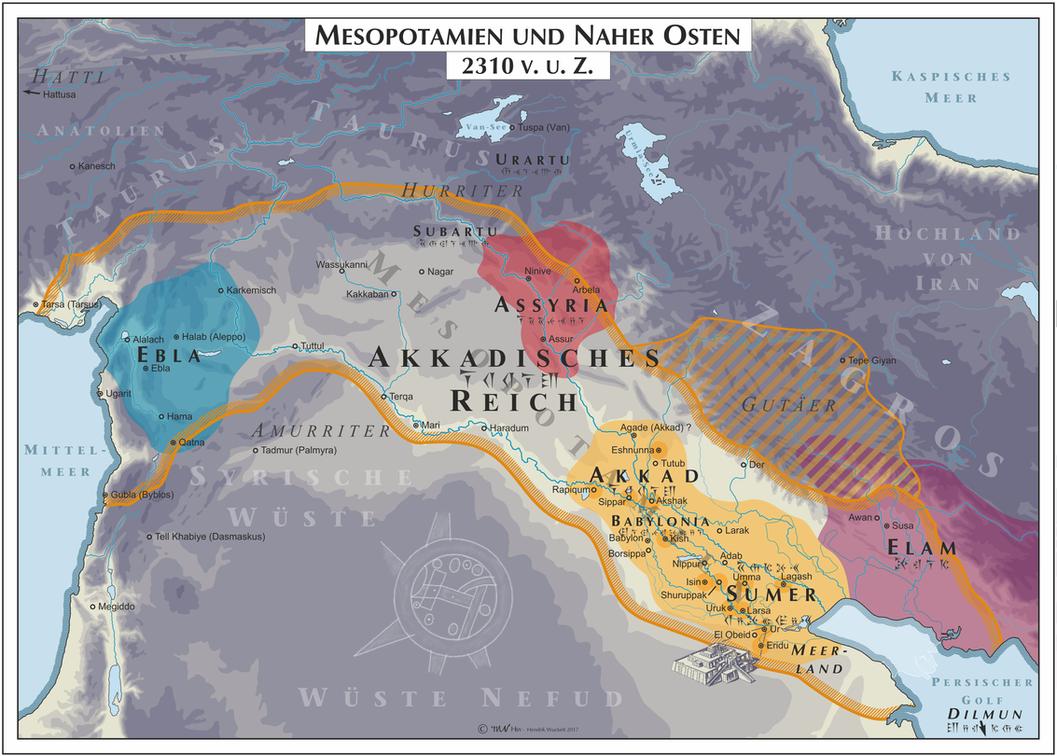 Mesopotamia - 2310 (Mesopotamia) by Cyowari