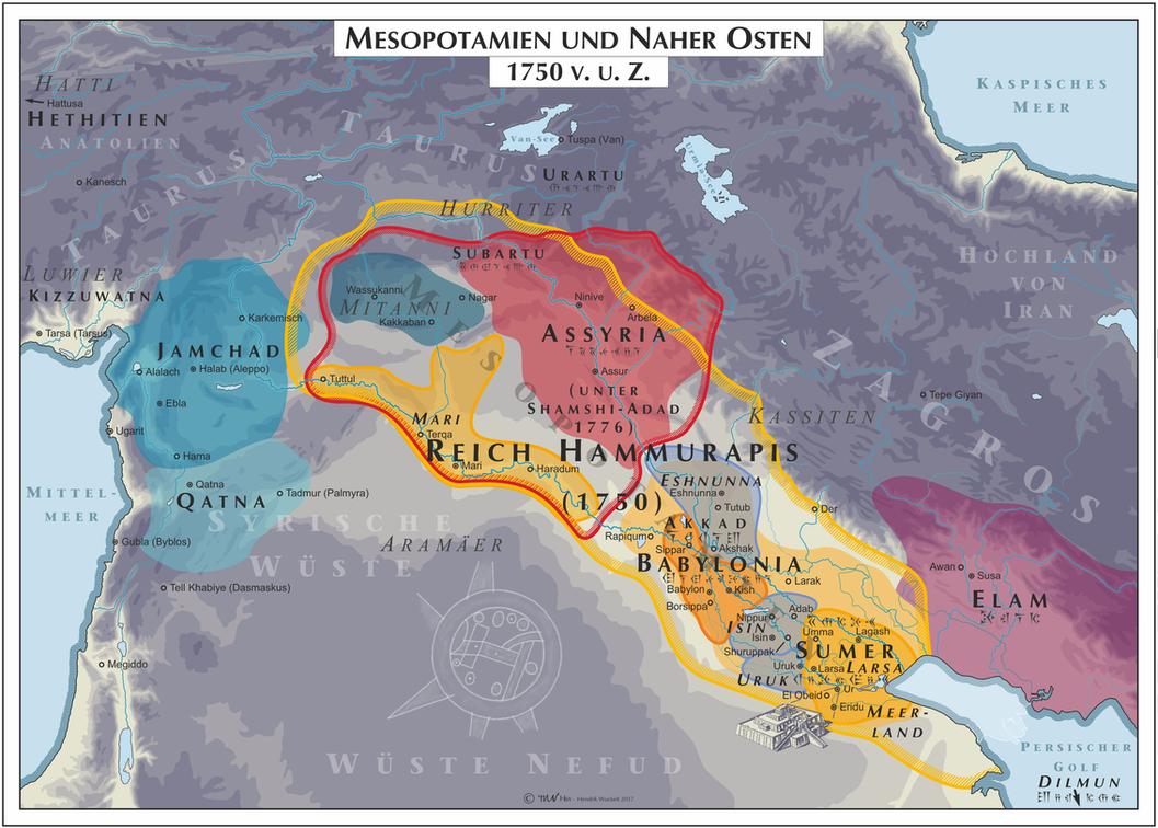 Mesopotamia - 1750 (Mesopotamia) by Cyowari