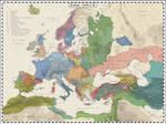 Europe 1210 AD