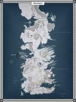Westeros by Cyowari