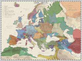 Europe -  1460 by Cyowari