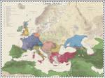 Europe - 750 AD